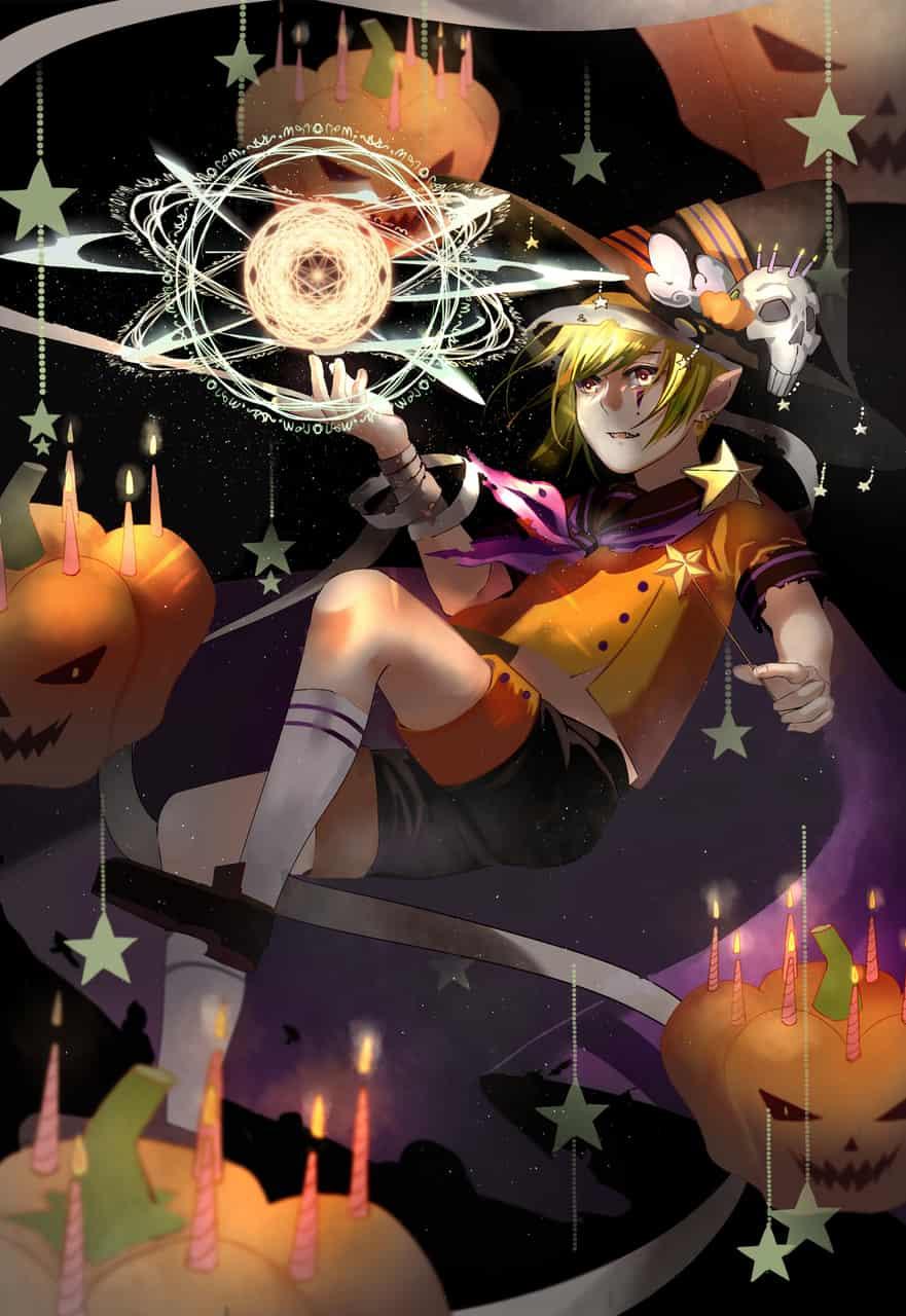 Pumpkin magic Illust of RIKU ArtToPaper2017
