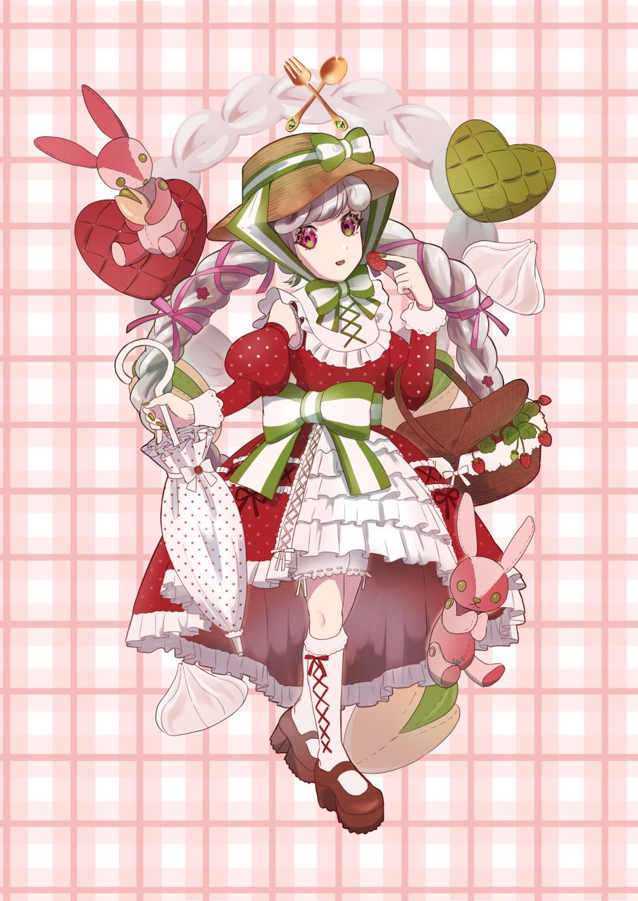 いちごとピスタチオのタルト Illust of 名取そじ girl oc