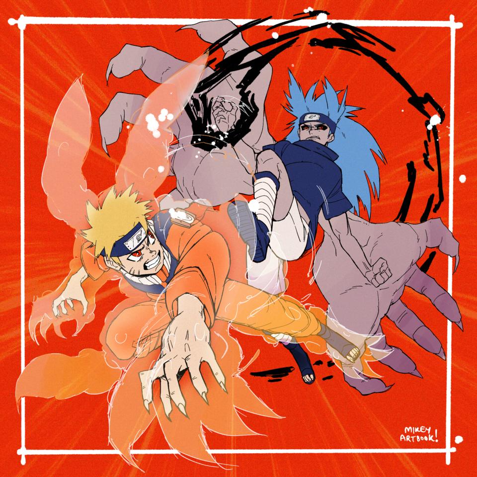 Naruto vs Sasuke, where it all started!