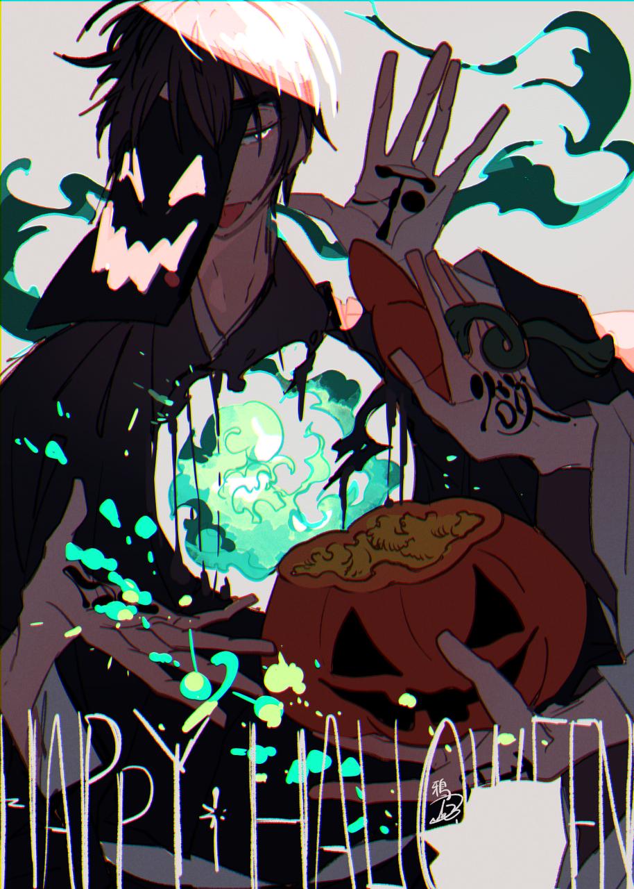 霊 Illust of 鴉羽 凛燈 Oct.2019Contest medibangpaint Halloween original