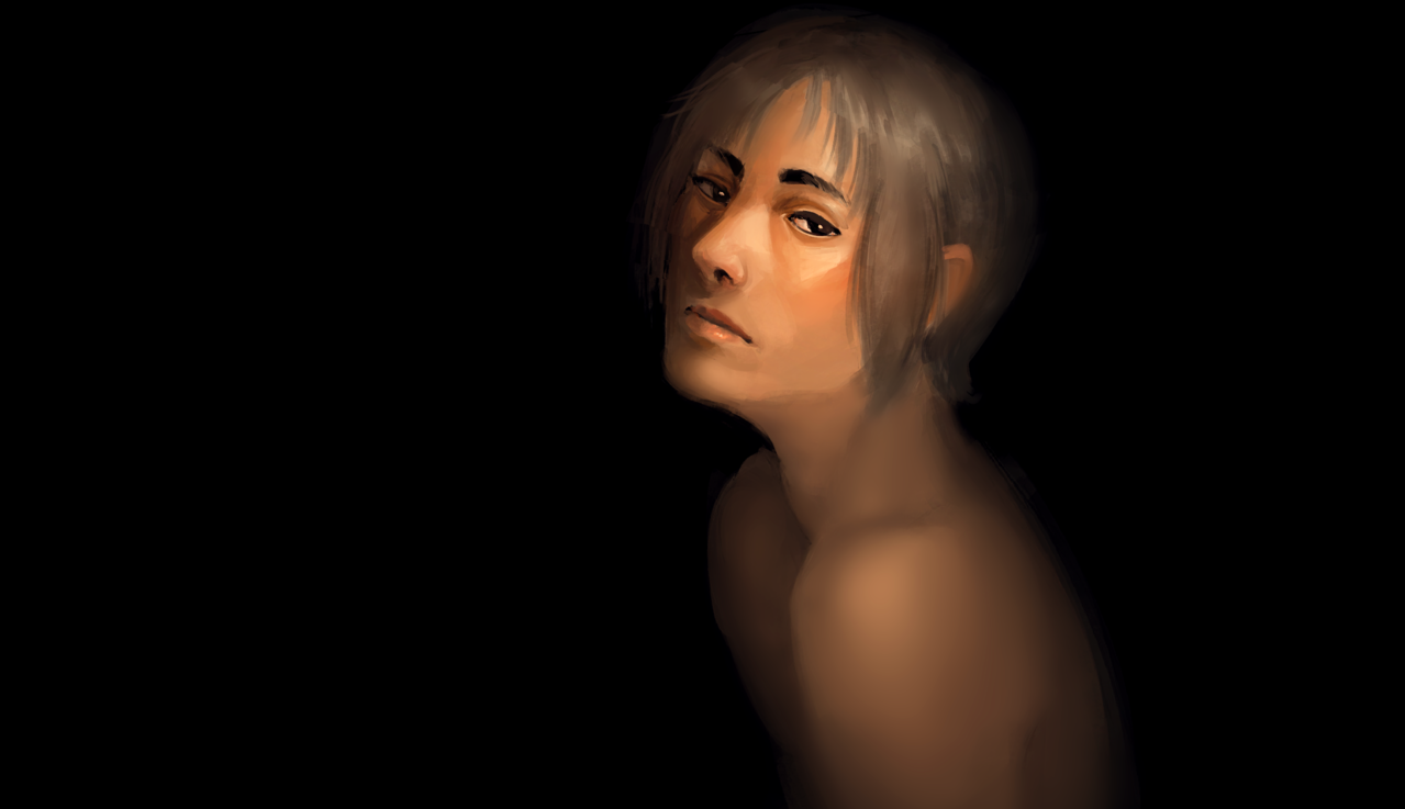 spotlight Illust of Pai portrait dark oc