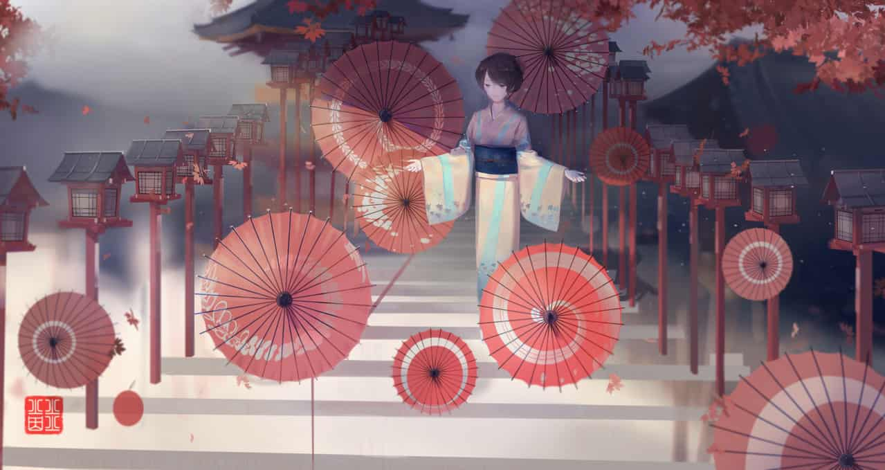 朱 Illust of 火火火因 kyoto-illust2019 火火火因