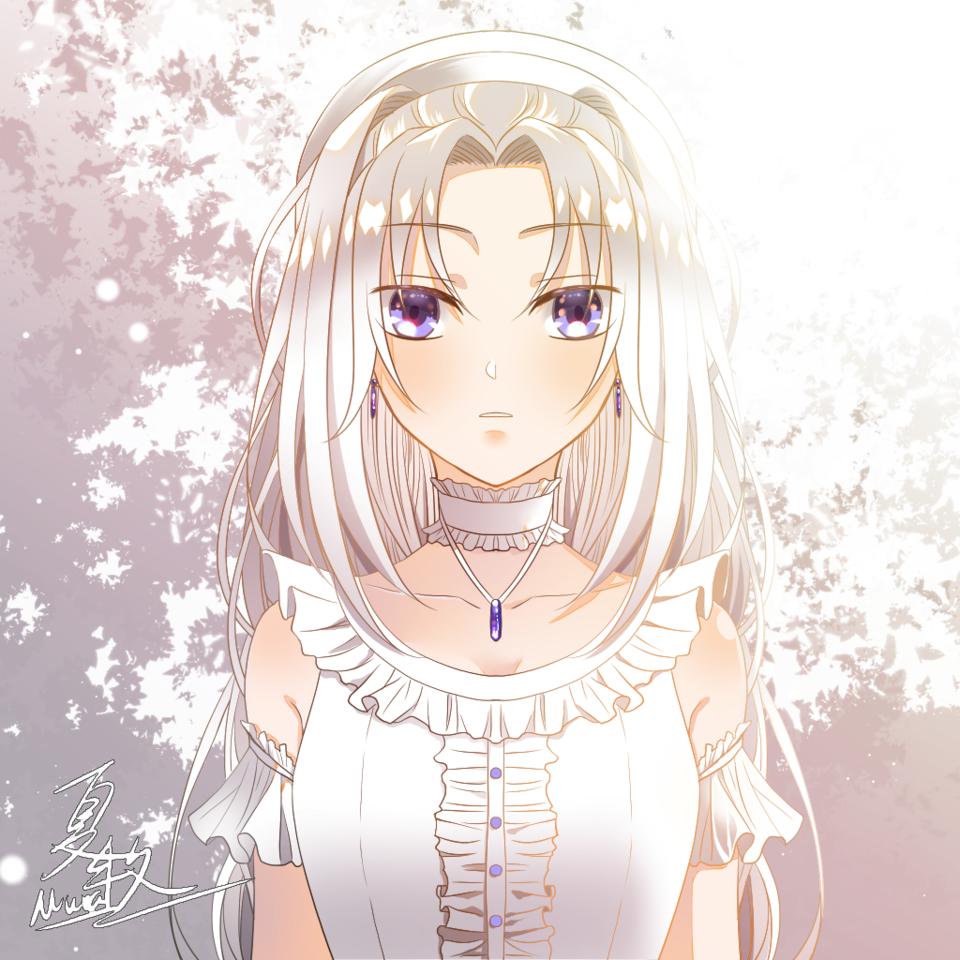 純白 Illust of 夏牧Mura