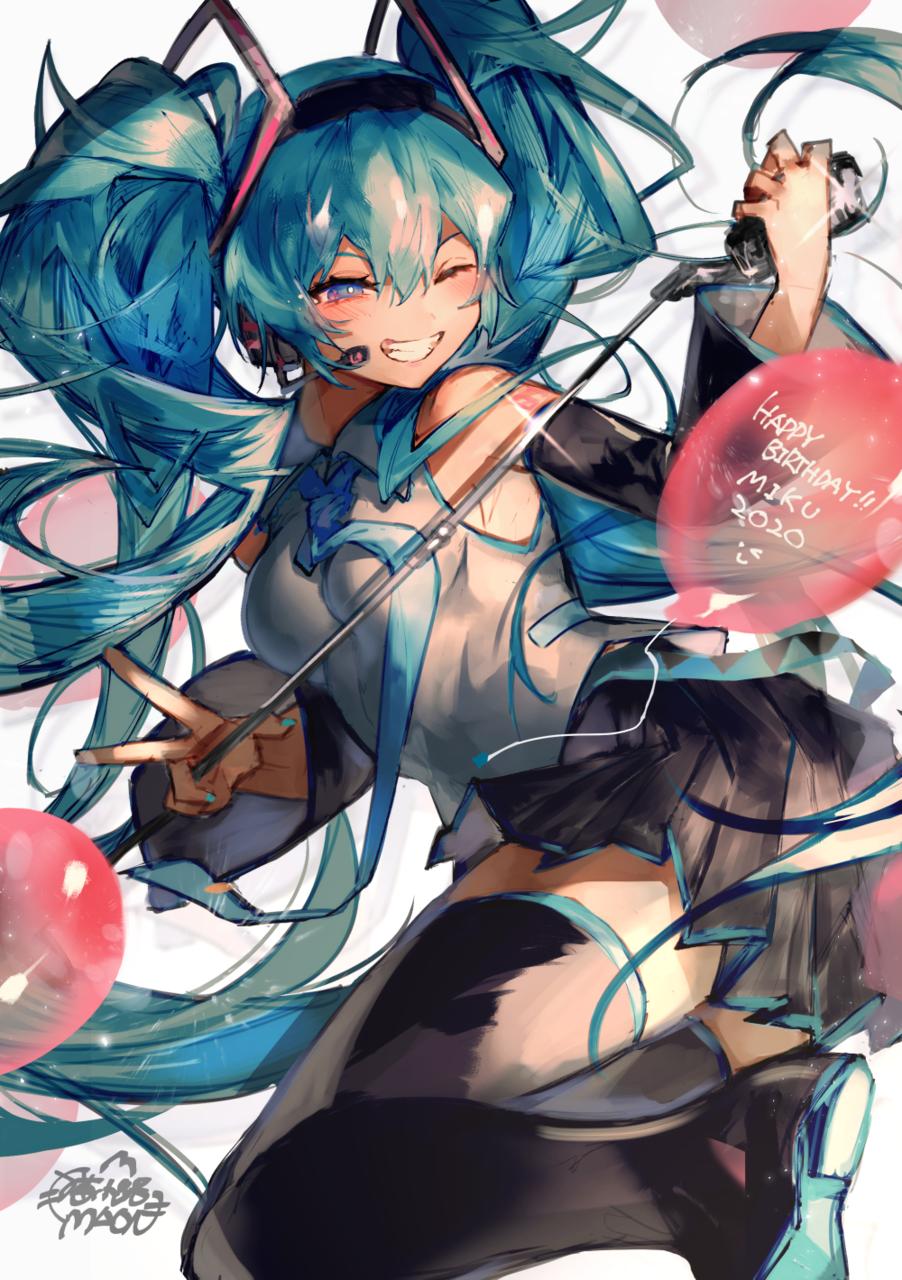 初音ミク Illust of 猫小路 girl VOCALOID