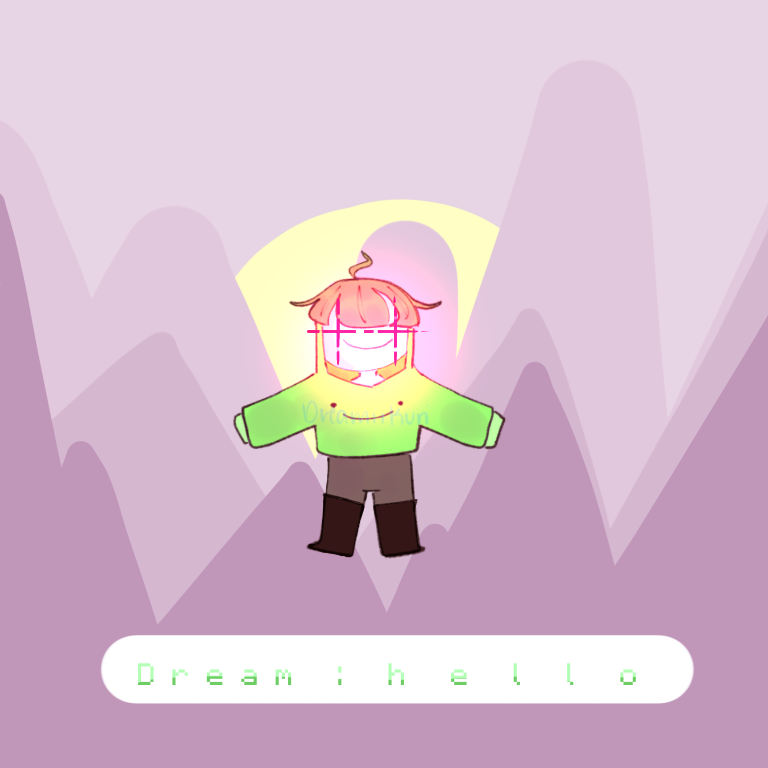 *manhunt music iNTENSIFIES* Illust of DreamiiKuri   Drèam mode©️ oc drawing dreamwastaken Dream anime mcyt