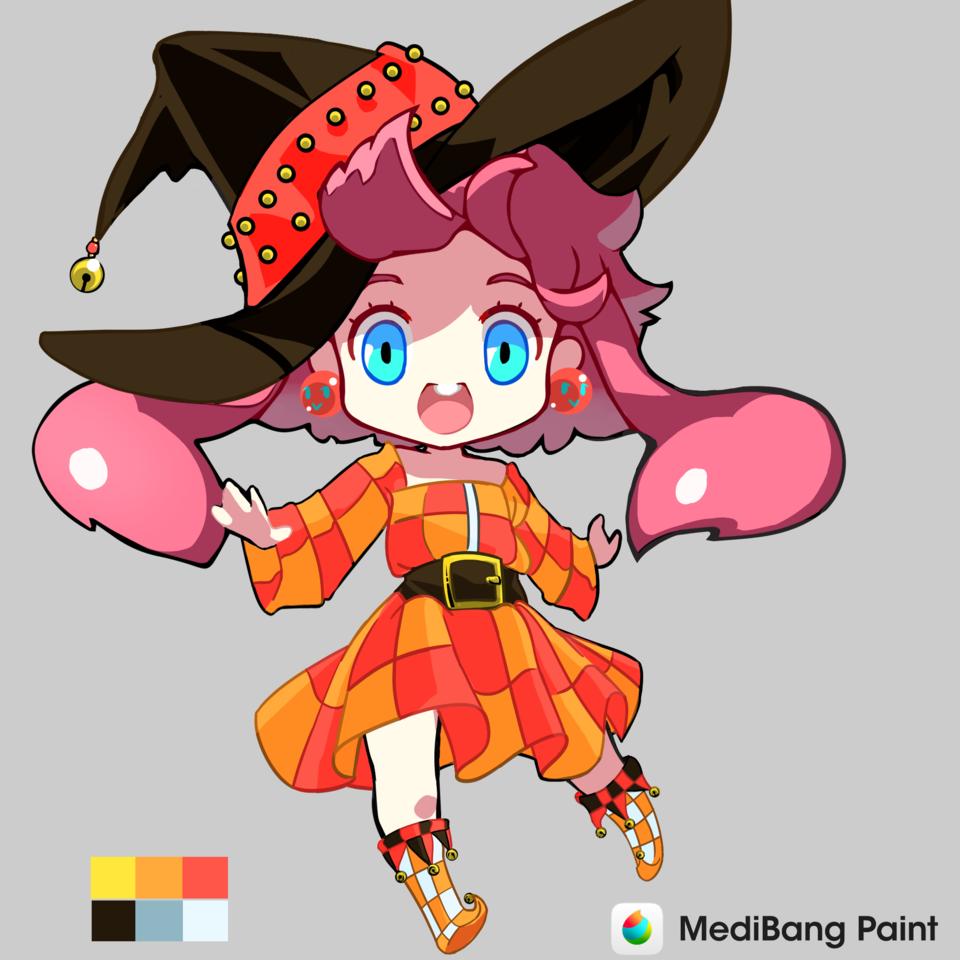 1619653845332 Illust of Karenhc chibi Dress-up_Challenge fanart kawaii digital cute anime beautiful color medibangpaint