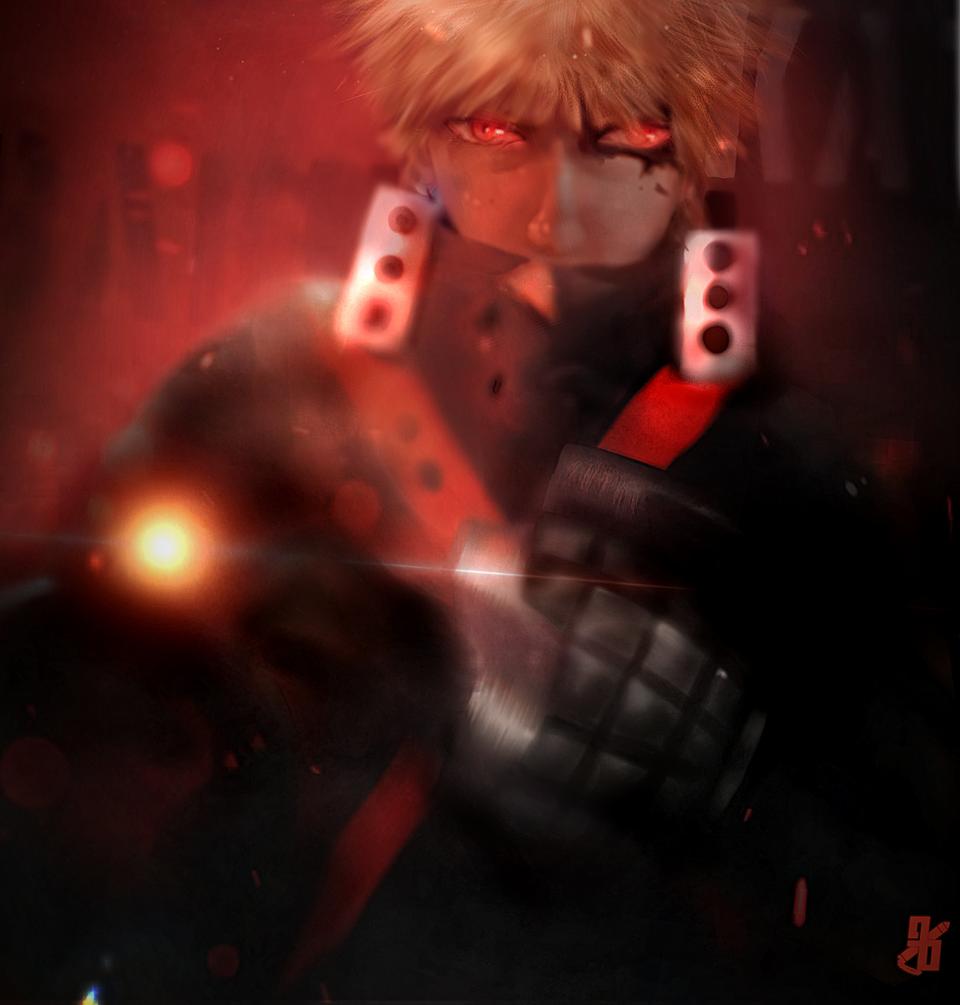 《Bakugou Katsuki》 Illust of Loonr | Game_Open medibangpaint Hero Bakugou Boku MyHeroAcademia bokunoheroacademy Katsuki