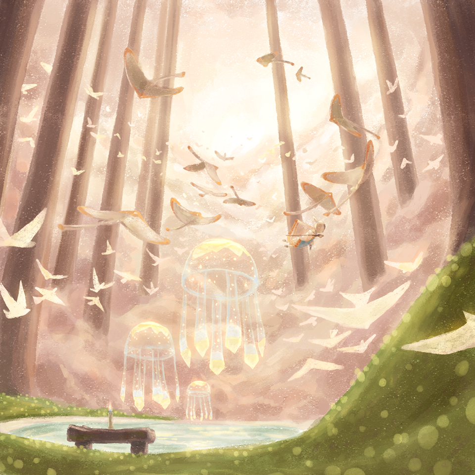 Hidden Forest Illust of 齊二口 thatskygame fanart ThatSkyAnniversary sky星を紡ぐ子どもたち