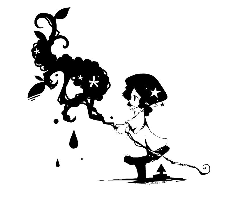 魔法使いの杖 Illust of orange lore original 魔法使い