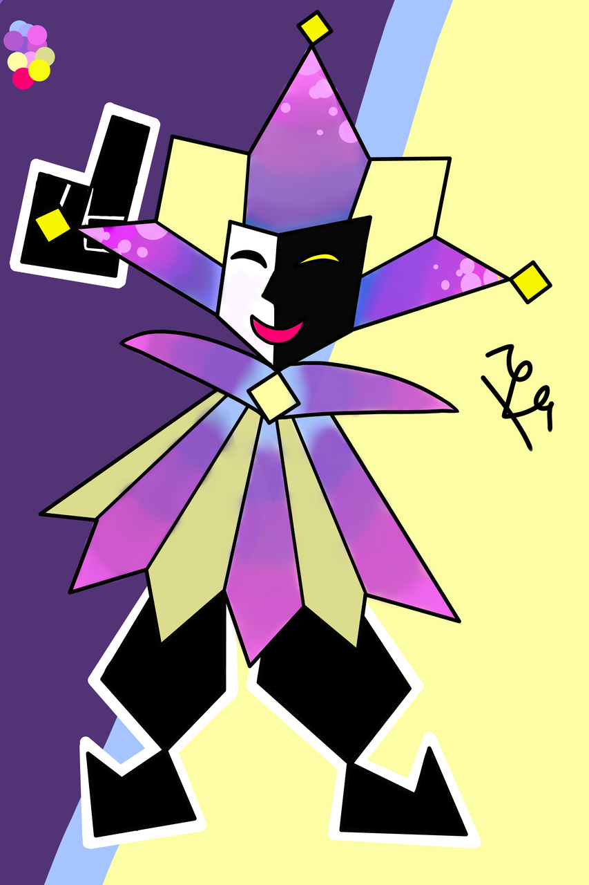 wip Dimentio completado :'l Illust of We_Draw_And_Animate/400 medibangpaint