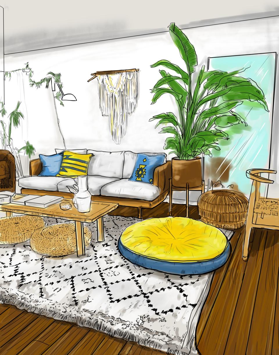 Interior Illust of Andinatz medibangpaint iPad_raffle