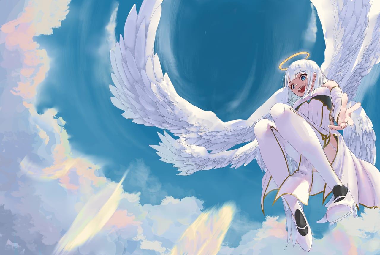 天使とともに Illust of のほほ ART_street_Illustration_Book_Contest girl oc