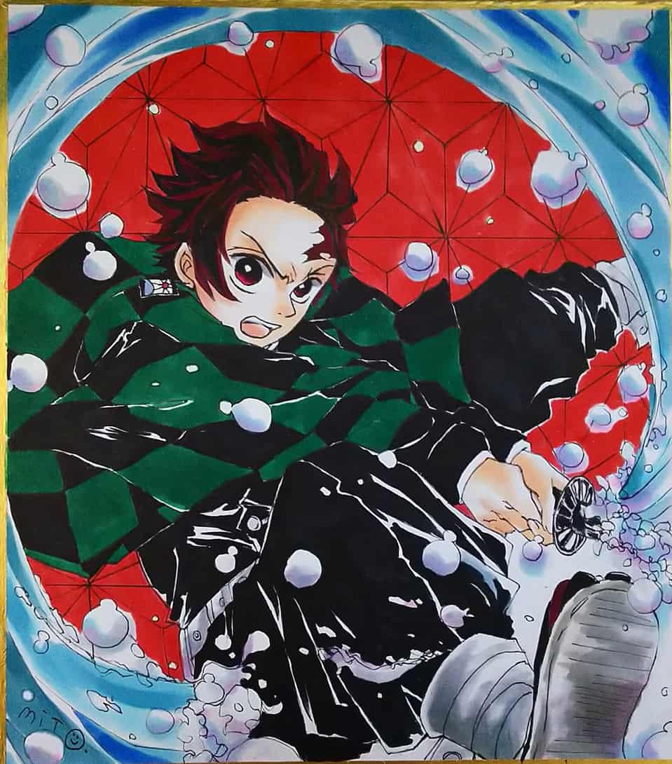 惡鬼滅殺 Illust of ミト DemonSlayerFanartContest KimetsunoYaiba KamadoTanjirou