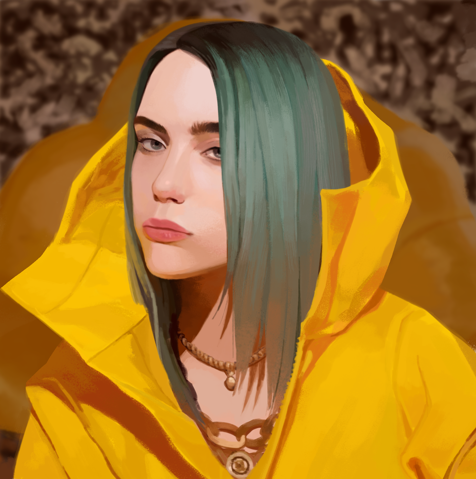 Illust of Lulu BillieEilish