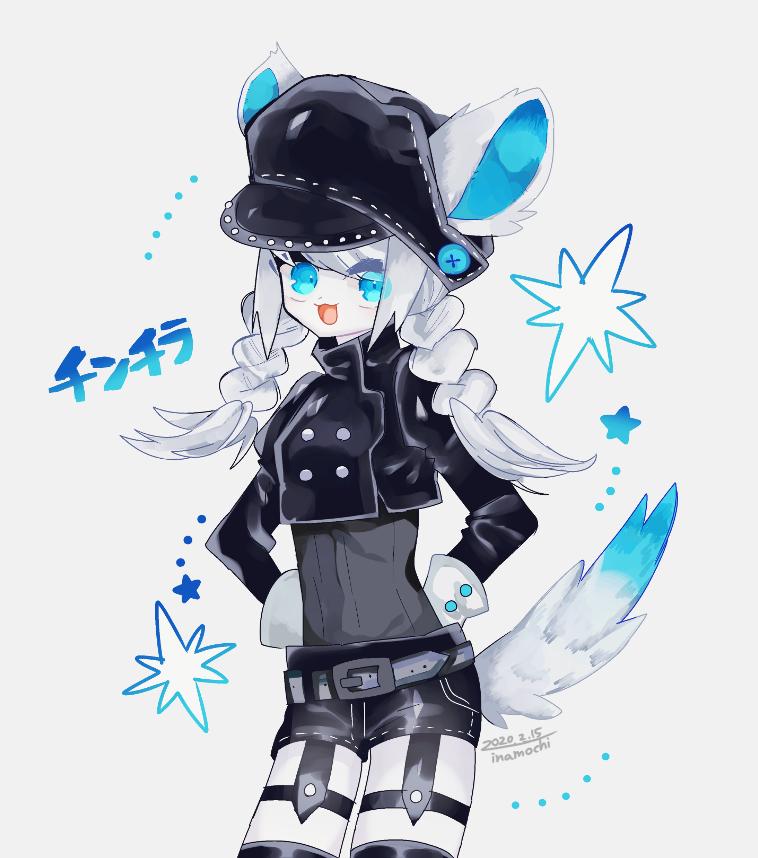ネズミの女子 Illust of 停止 original girl oc 人外