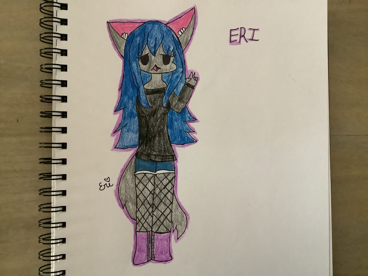if eri was a friday night funkin' char Illust of sleepy_eri. oc fanart fnf animegirl wolf fridaynightfunkin