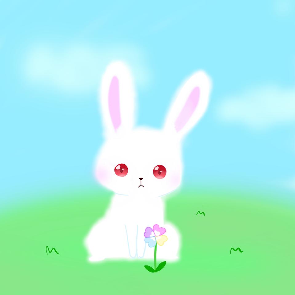 うさぎ Illust of かなめ rabbit レッツワンドロ