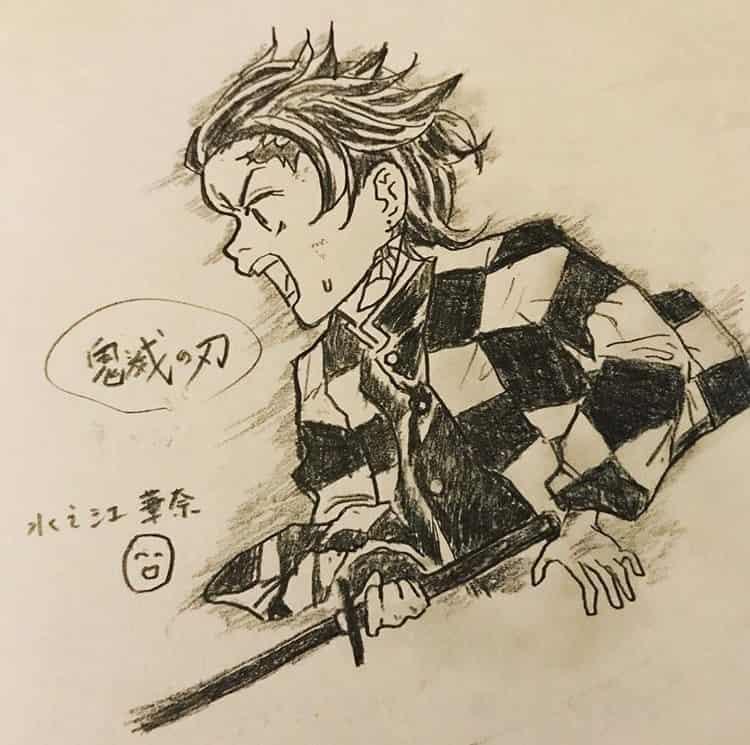 ゆけ!炭治郎!(^^) Illust of 水之江華奈 DemonSlayerFanartContest KimetsunoYaiba KamadoTanjirou