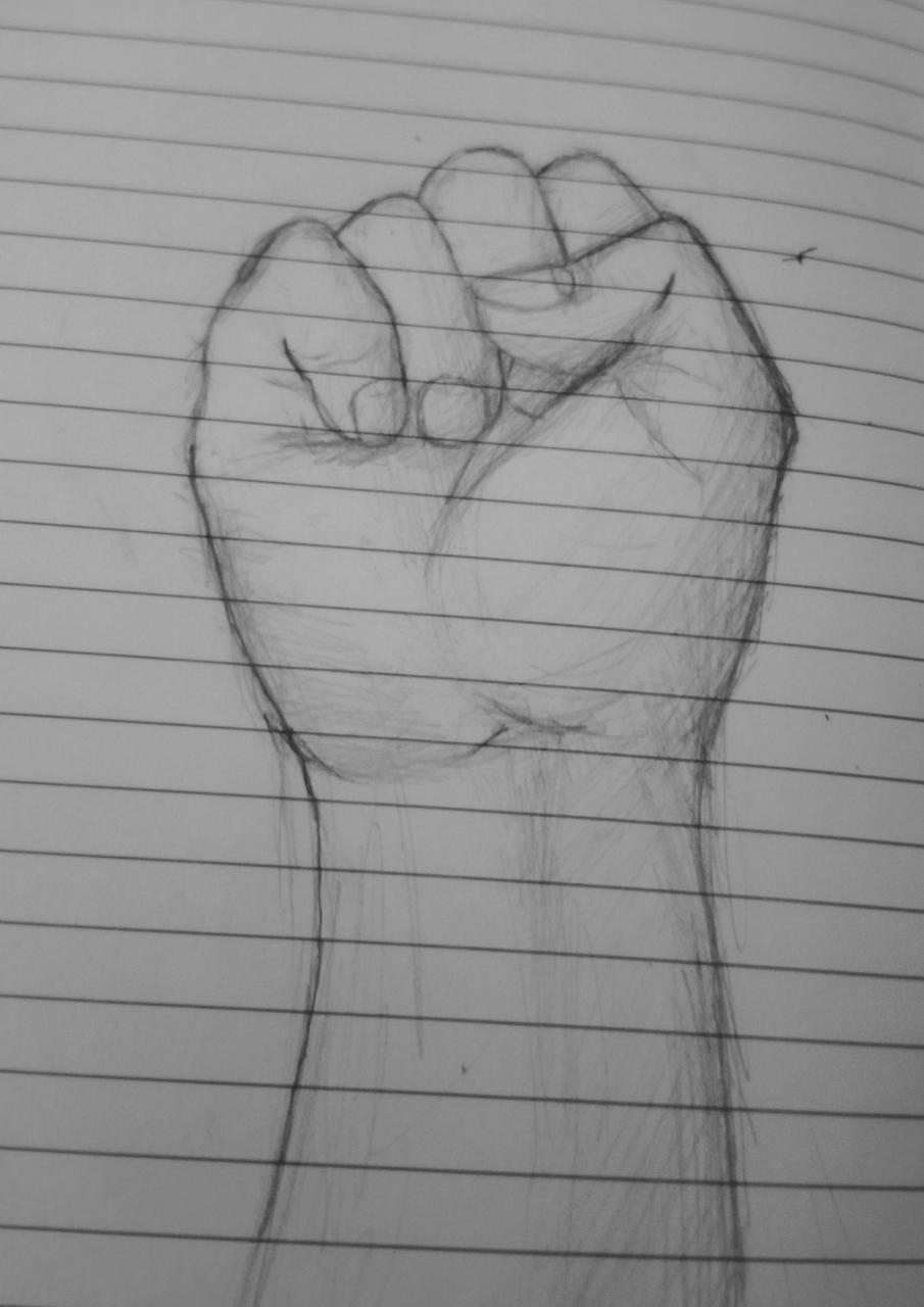 another hand Illust of kitty radar medibangpaint hand pencilsketch traditional realism