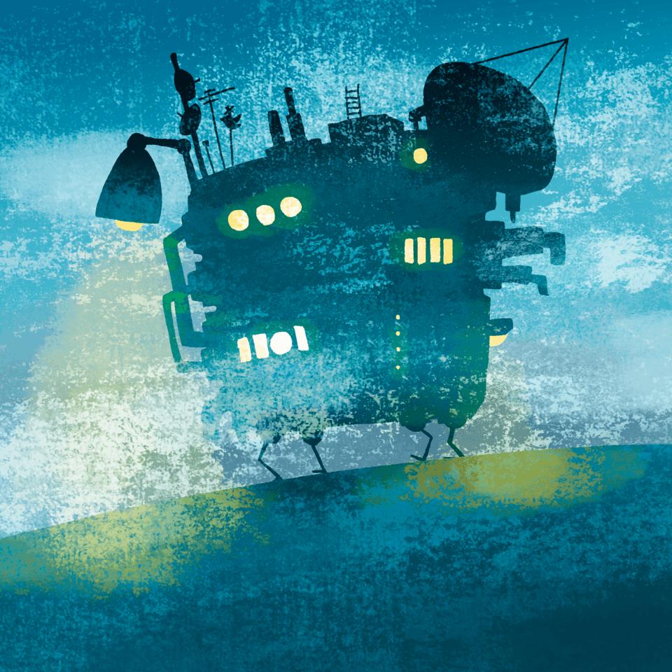 移動式要塞B型 Illust of ウラベロシナンテ fantasy original