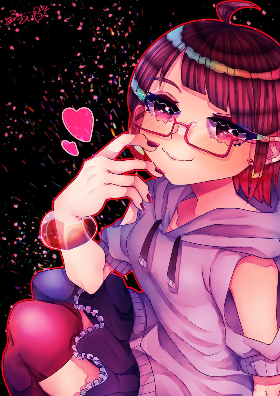 ❤よそのこ💙 Illust of カツシカルキコ girl よそのこ