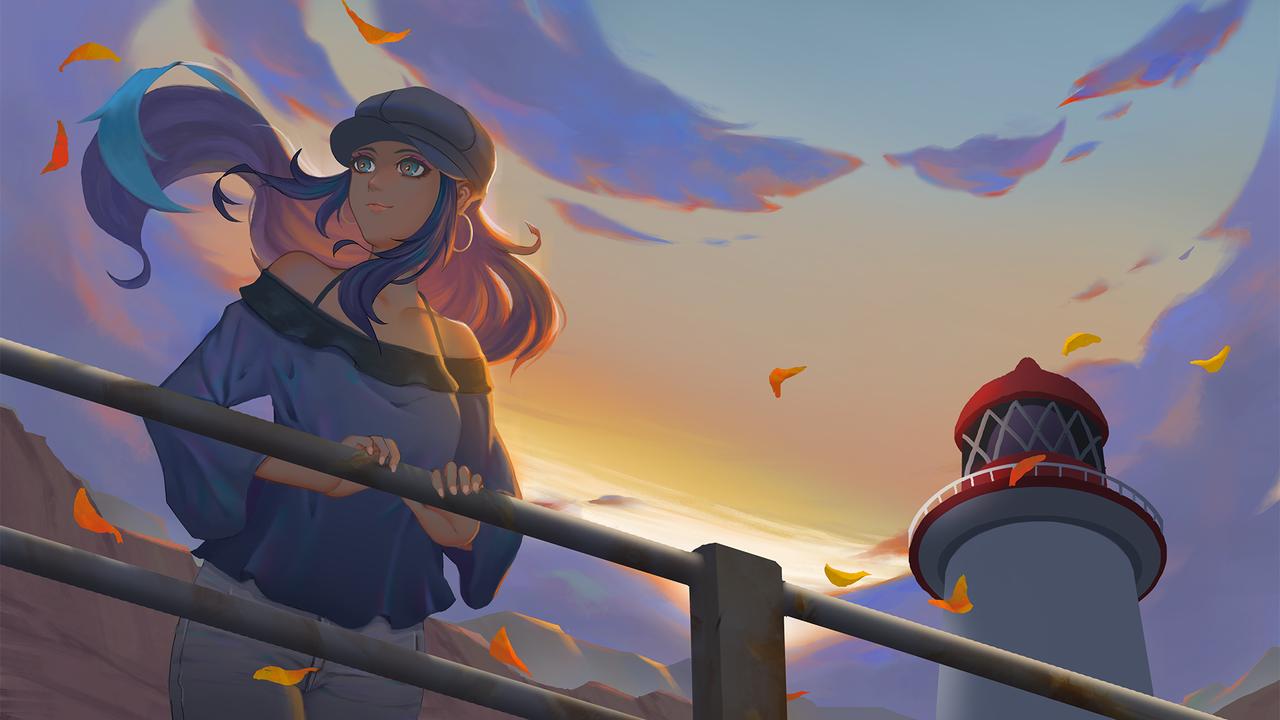 露璃娜 Illust of Sokanu PokémonSwordandShield pokemon 露璃娜 寶可夢 劍盾