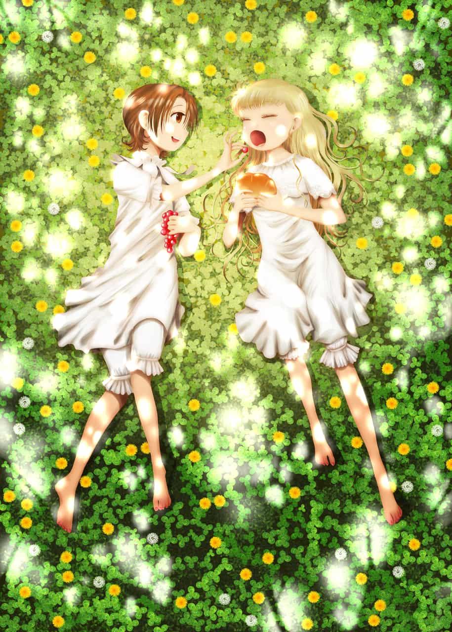 春の色 Illust of onigiri_japan April.2020Contest:Color 木漏れ日 girl friend 春