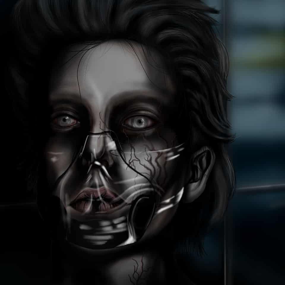 Suspirourum Illust of Seboos August2020_Contest:Horror medibangpaint