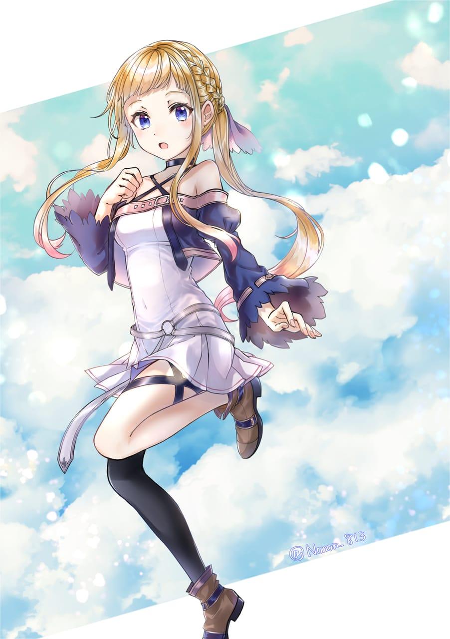 創作女子 Illust of のん* February2021_Fantasy oc girl kawaii original 美少女