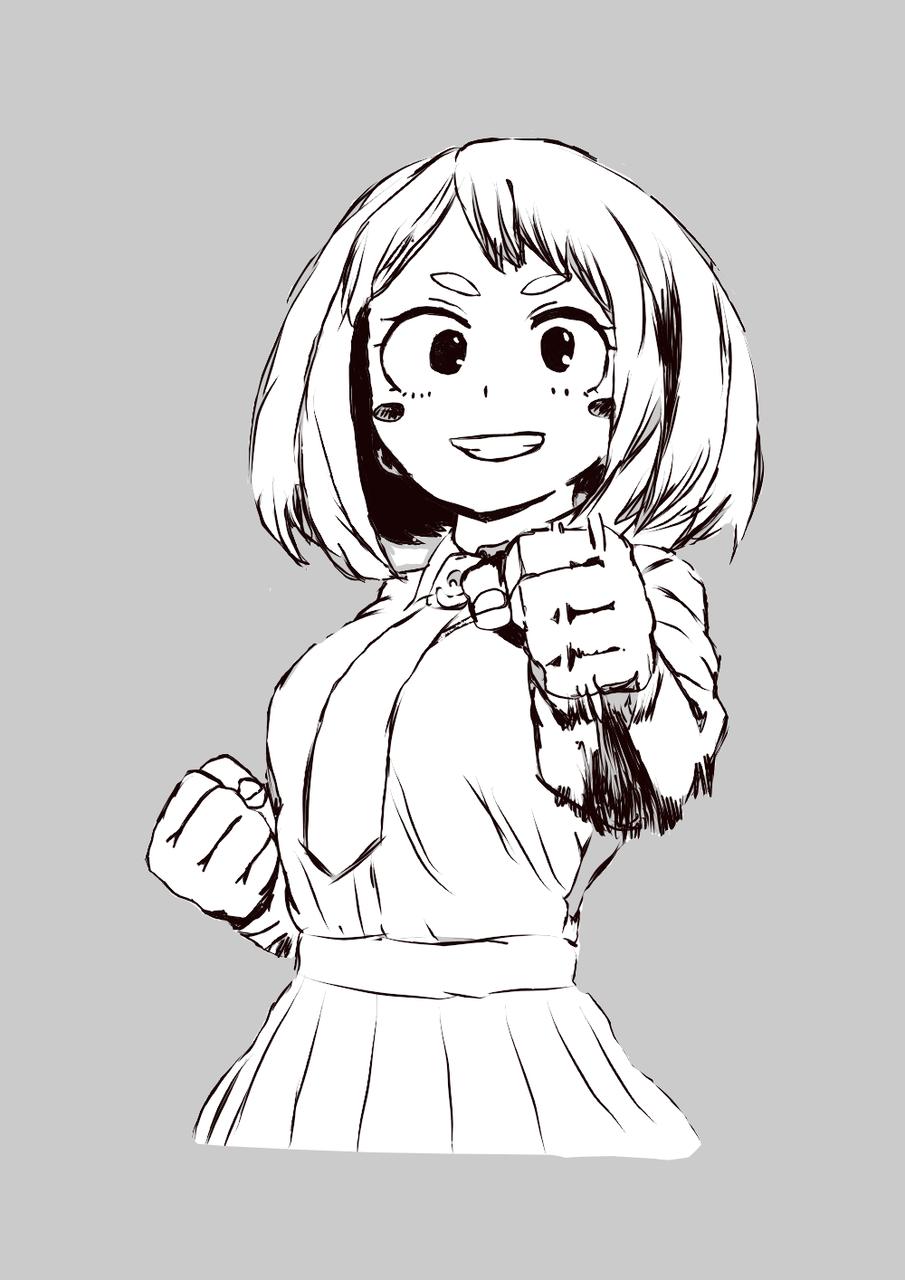 Ochako Uraraka  Illust of Frankie medibangpaint MyHeroAcademia manga ochakouraraka 麗日お茶子 makotoart icons