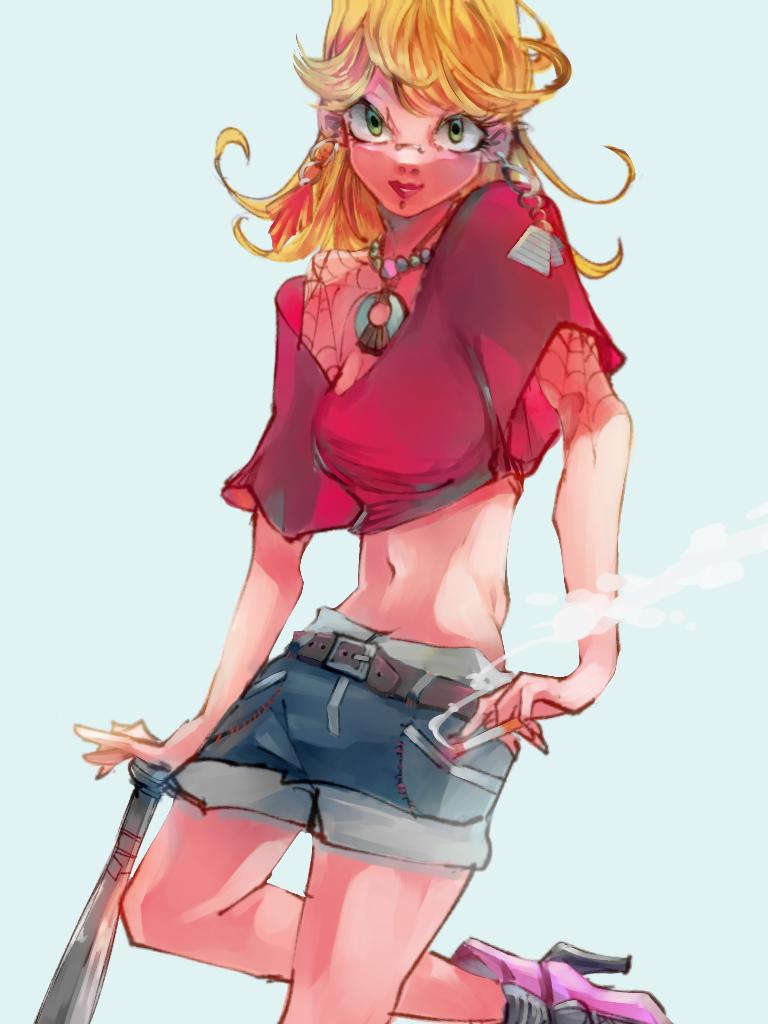 バットガール Illust of あみみん original girl oc impasto ibispaint