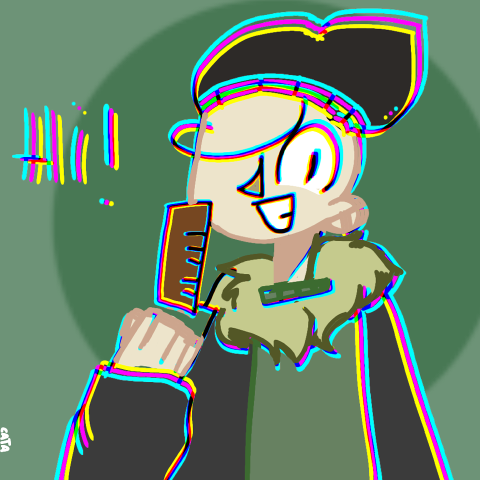 Profile picture for Baldi Baldimore Illust of caтa'ѕparadιѕe💤-CringeMode- glitch baldi_Baldimore