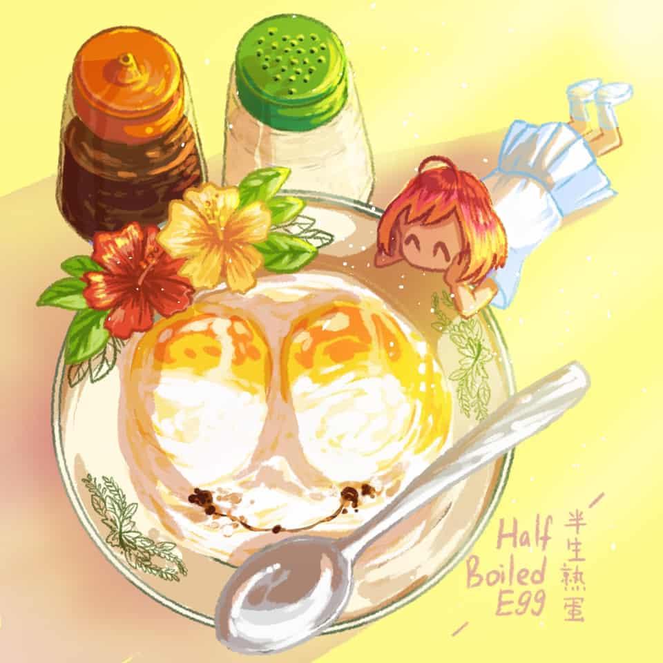 マレーシアの食べ物 #1 Illust of xiin_ruu_ October2020_Contest:Food original illustration Malaysia medibangpaint art food oc