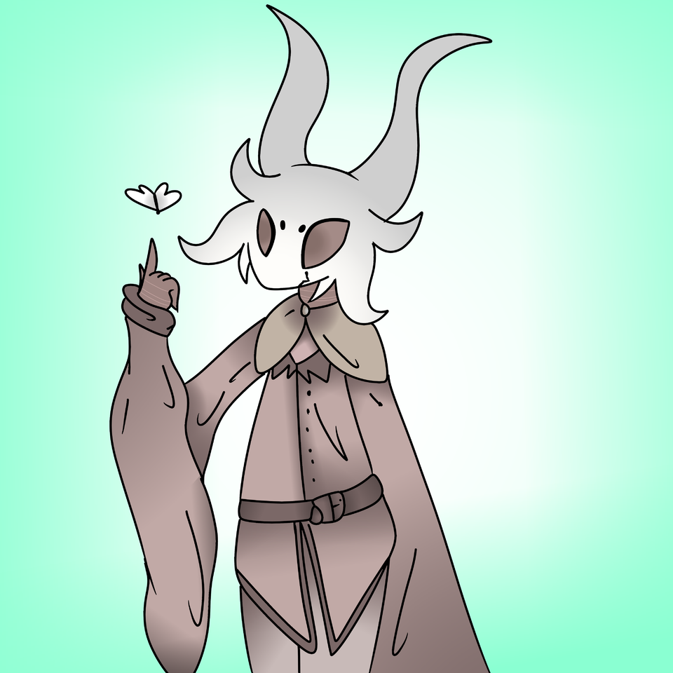 gift for Squidkid64 Illust of ❄Ash❄ medibangpaint gift Squidkid64 Hollow Knight Hollow_Knight