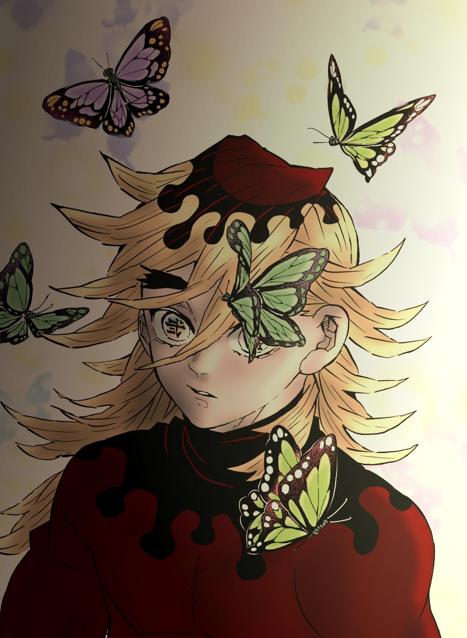 Kimetsu no yaiba, frame color