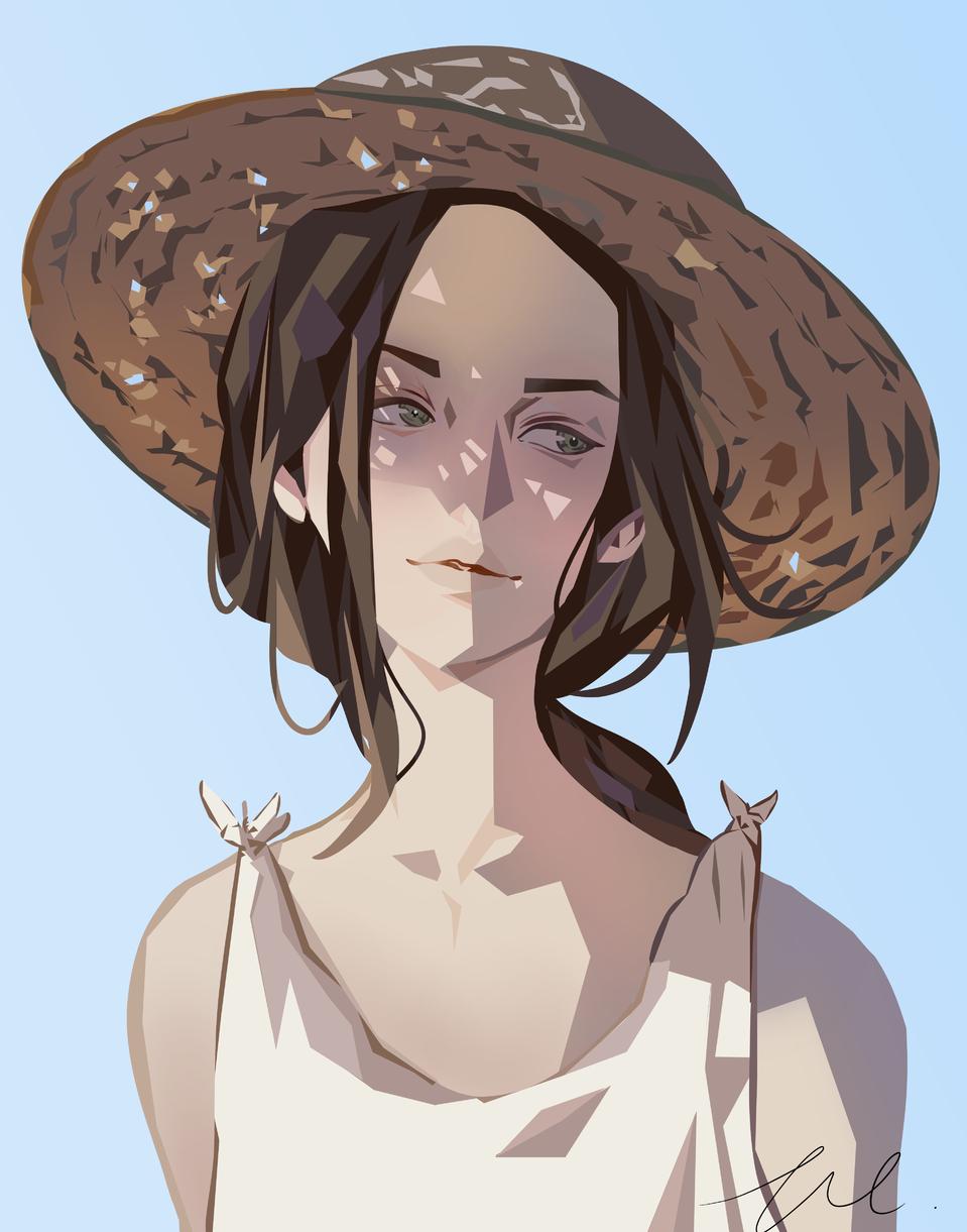 Teehee Illust of iiFrance drawing oc