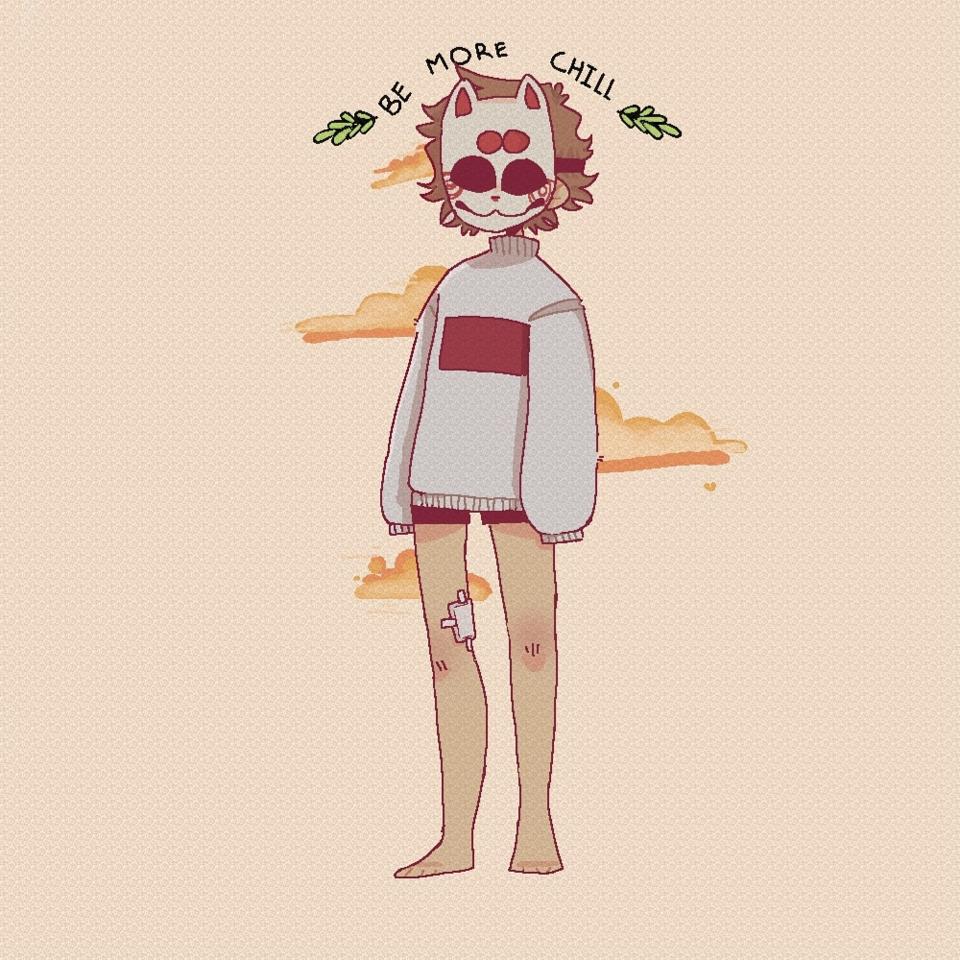 haha. Illust of sami medibangpaint