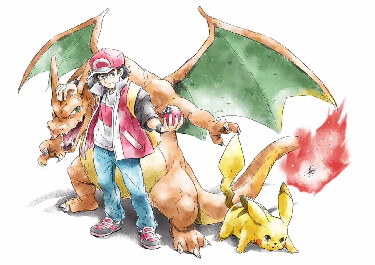 ポケモン Illust of ちーくん Pikachu サトシ Charizard pokemon