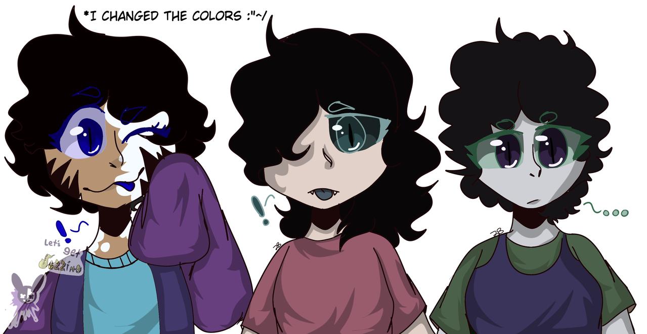 Carrie,Mavis,and Samara(changed colors)
