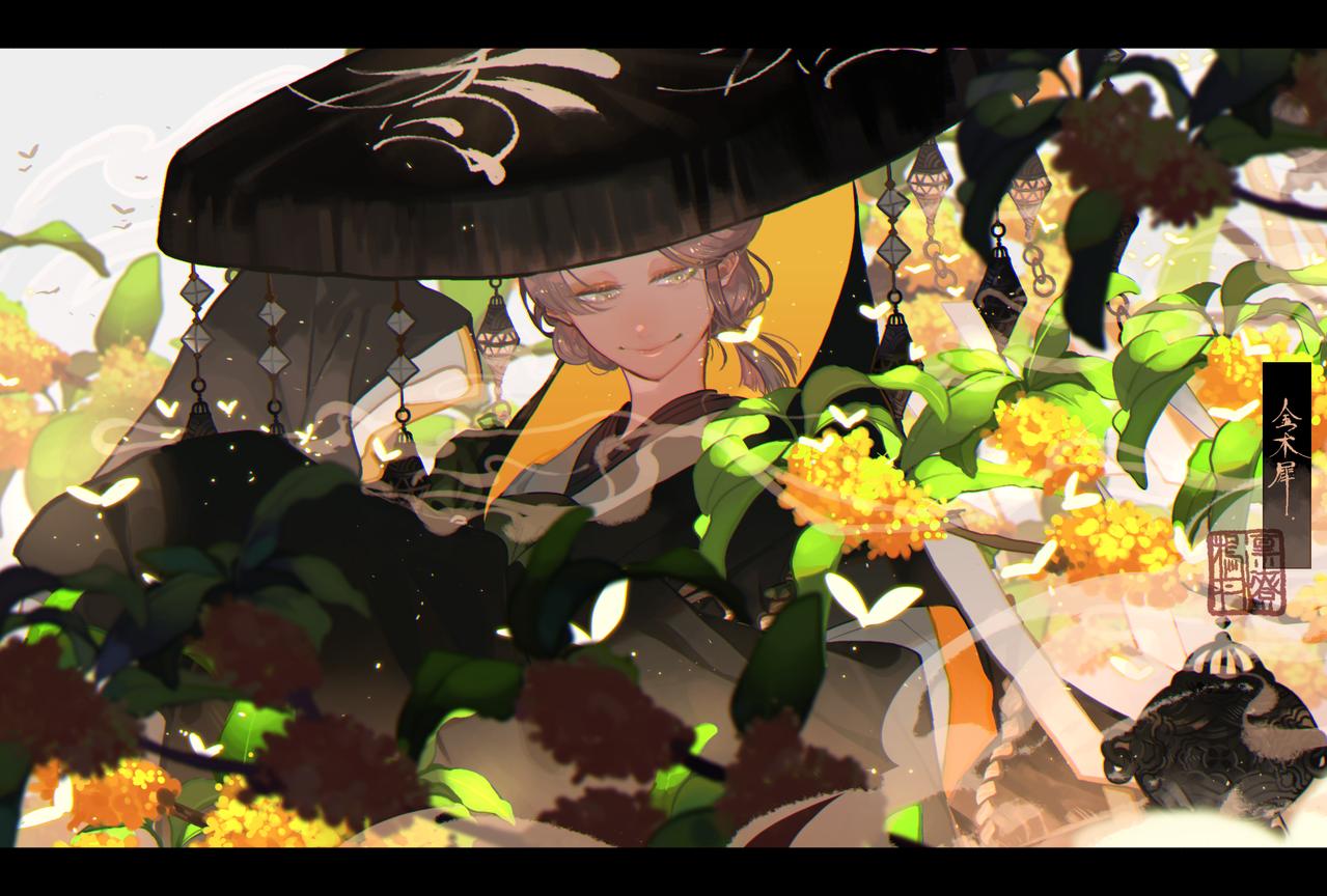 金木犀 Illust of 鴉羽 凛燈 Sep.2019Contest medibangpaint Japanese_style 金木犀 original 香