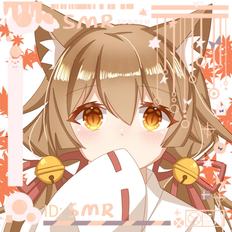 打算是接稿用的样图_(:D)∠)_(我懒只上了一层阴影_(:D)∠)_) Illust of 莫丸——!XD medibangpaint girl Japanese_style oc cat_ears twin_ponytails