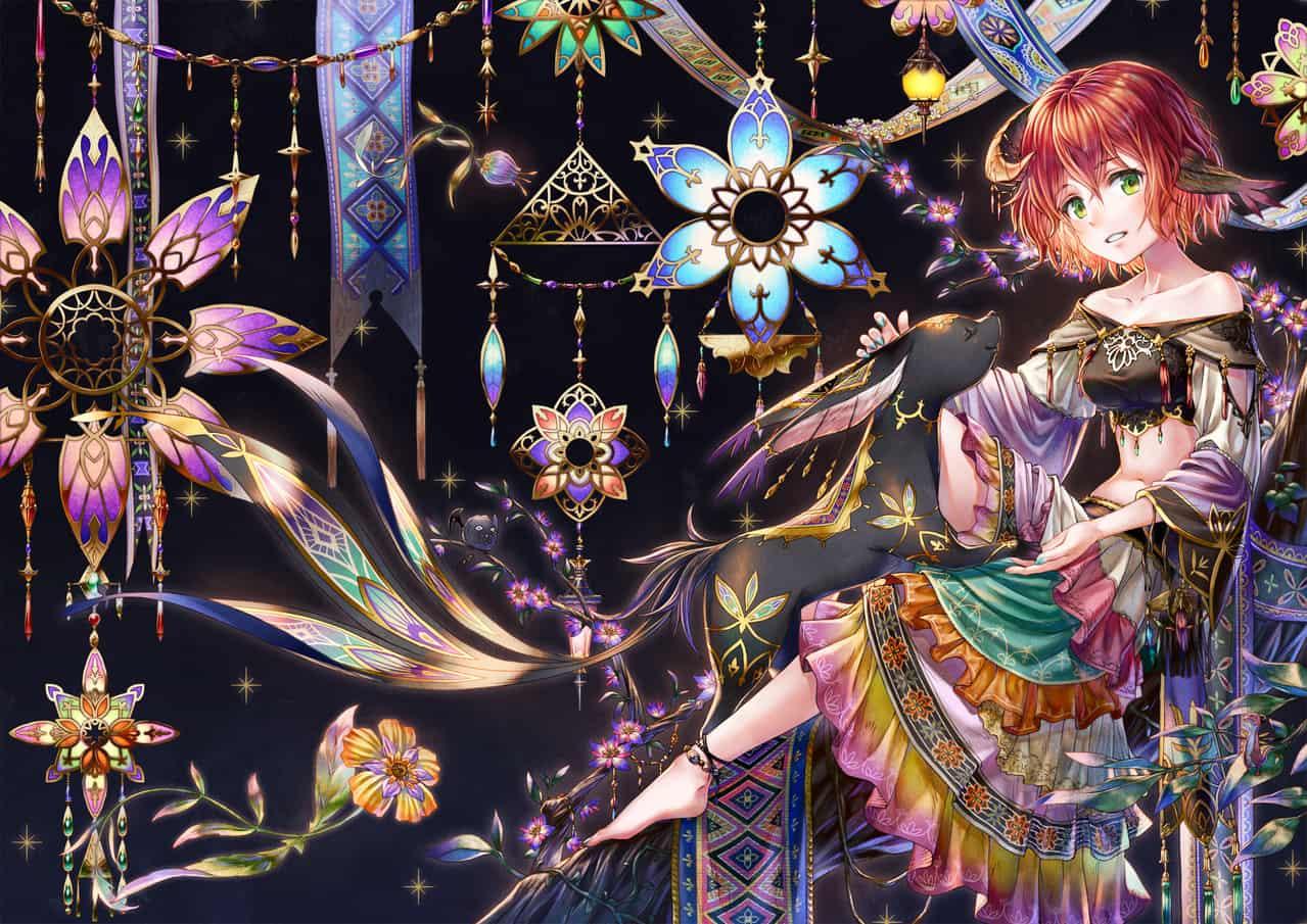 SOMNIUM Illust of syow fantasy character エスニック illustration