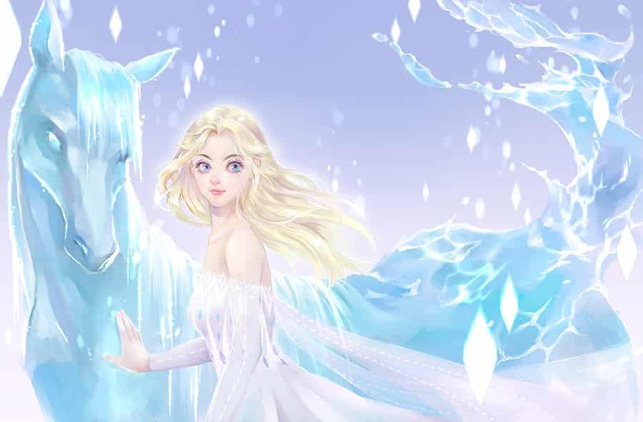 魔力 Illust of wasenski 冰雪奇緣2 Frozen Elsa(Frozen) frozen2