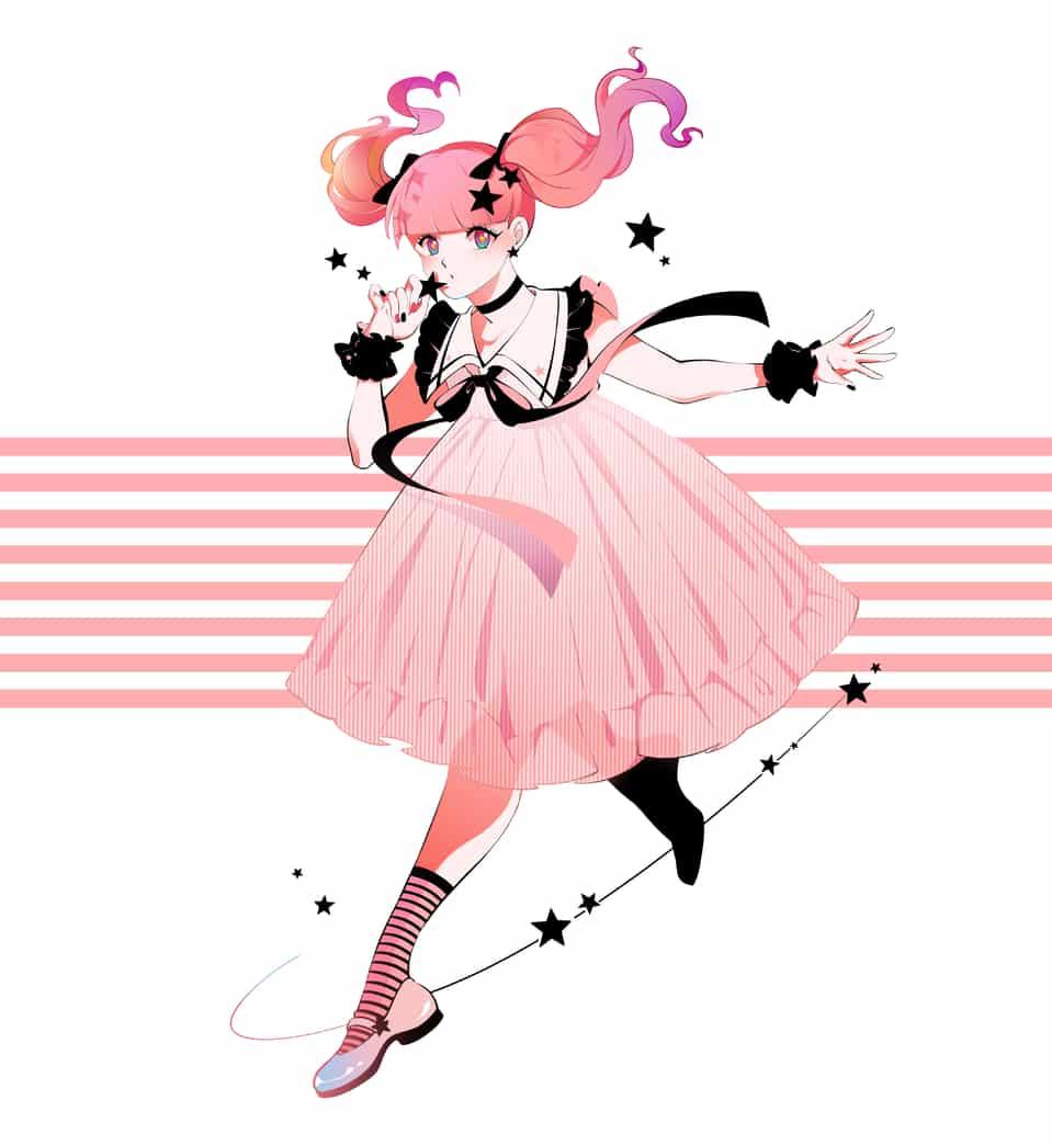 ピンク Illust of ぶた April.2020Contest:Color original