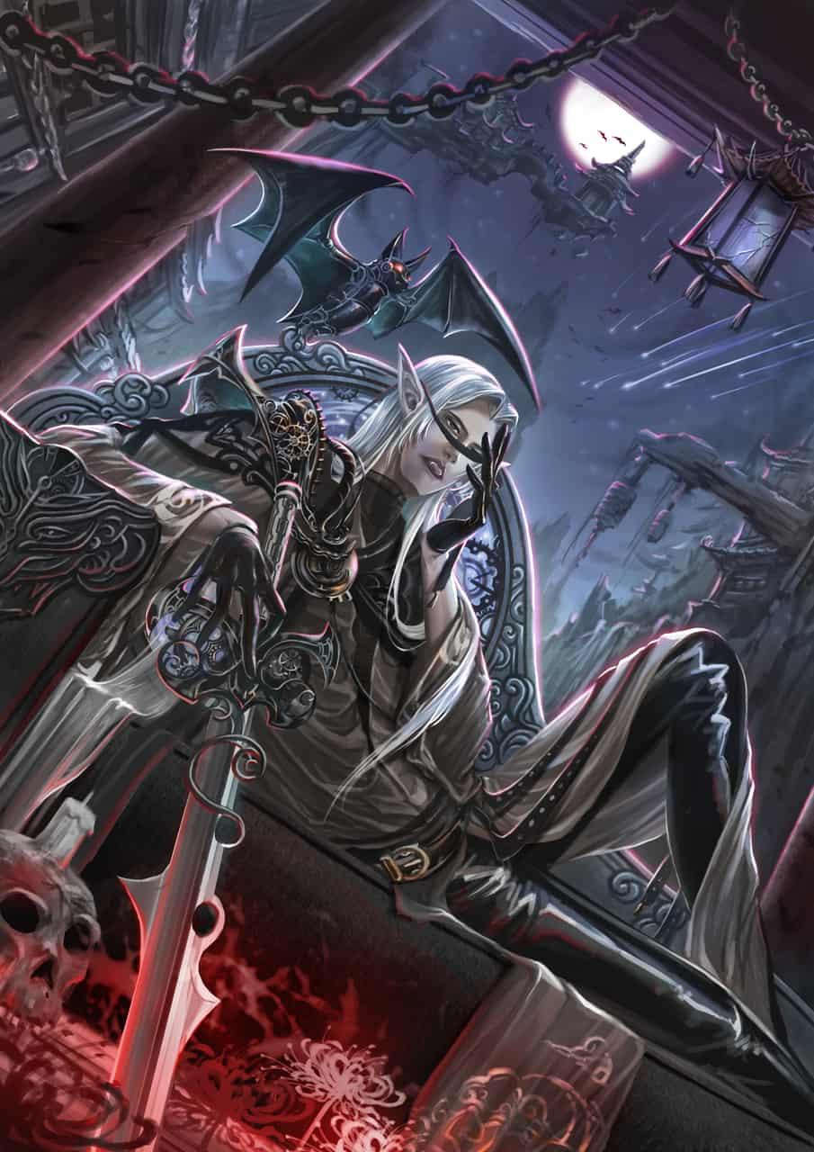 寂黯流光 彼岸星殞 Illust of 流浪兔仔LinYu fantasy ARTstreet_Ranking May.2020Contest:Cheering April.2020Contest:Color steampunk vampire medibangpaint original boy