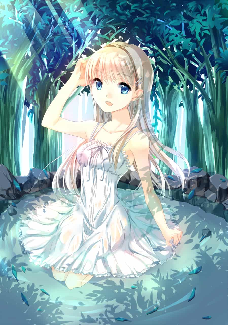 泉のセシリア Illust of 大川マキナ 川上とも子 girl original