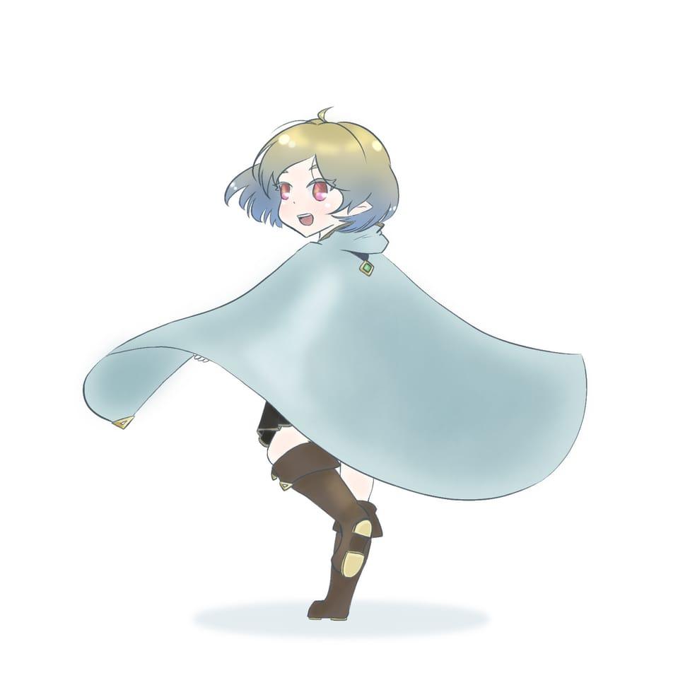 暗黒界の外へ Illust of ぽみあん('ω') January2021_Contest:OC February2021_Fantasy medibangpaint oc