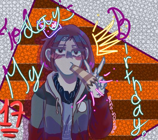 Hoy es mi Cumple UwU Illust of 甘いもん♡ medibangpaint