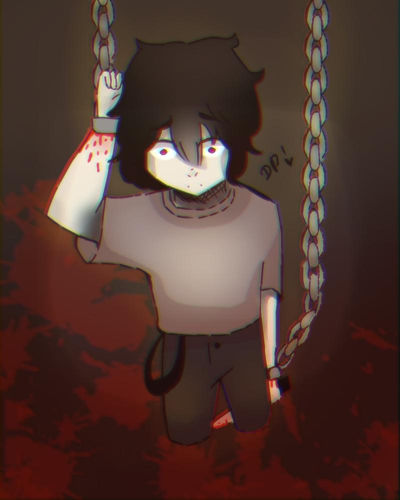:v Illust of Mfg53 Dark boy owo red