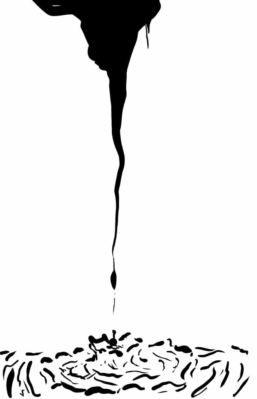 hope Illust of HINATA ink art ShonenJump mangaka blackandwhite manga page water